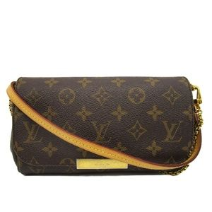 Louis Vuitton Favorite Pm Monogram Brown
